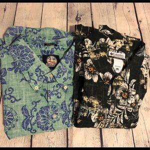 2 Men's button down shirts size XXL